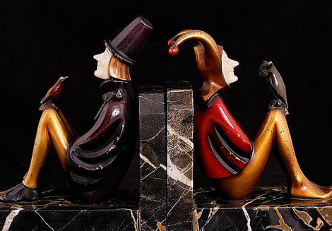 Chryselephantine Technique. Luxury and Chic of Art Deco. Small-Scale Sculptures. The XX century. Origins.