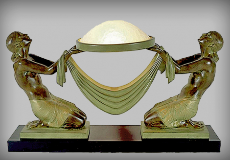 Max Le Verrier. Luxury and chic of Art Deco. Small-scale sculptures. The XX century. Origins. 190214