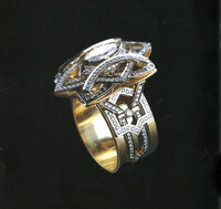 "Diamond Ring ""Marquise"""