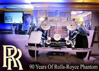 Rolls-Royce Enthusiasts Club. 90-летие модели Phantom