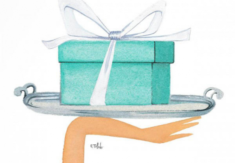 Tiffany. Dream in the Blue Box. (Part one)