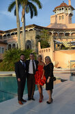 Respected guests of the Lobortas House's Jewelry Show in the Mar-a-Lago billionaires' club