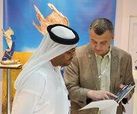 Mohammed Saleh Al Baidani, director general of the International Fund for Houbara Conservation