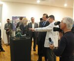 Presentation of the exhibition to guests and journalists
