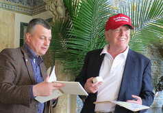 Donald Trump and Igor Lobortas