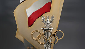 Commemorative award: the 100th Anniversary of the Polish Olympic Committee.