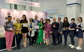 Winners and prize-holders of the International Jewellery Stars (IJS) Awards 2019.