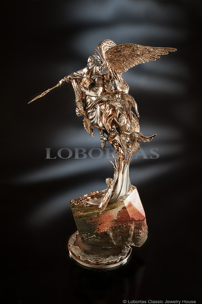 gold-silver-diamond-jasper-enamel-sculpture-michael-the-archangel-2.jpg